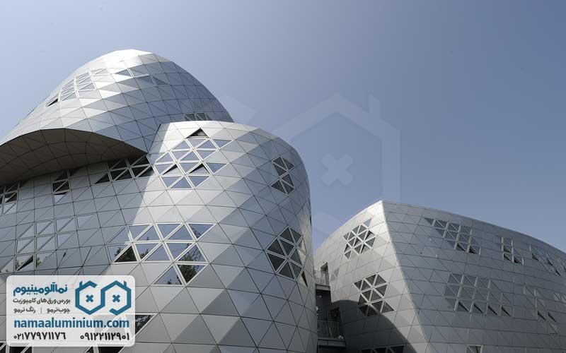 ساختمان ورق کامپوزیت سه بعدی